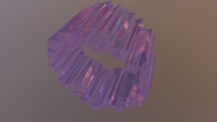 Parametric Ring Design 3D Model
