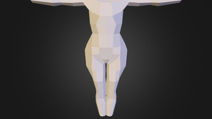 Kedwards 3dan305 Asses1 Body 3D Model