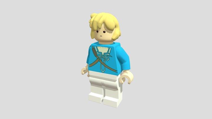 Link Mini Lego 3D Model