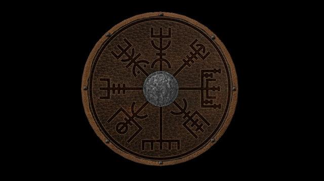 Viking shield 2 3D Model