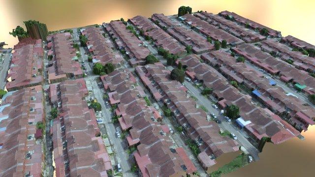 Taman Ria Jaya 3D Model