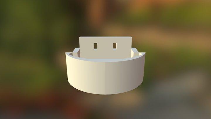Twinstar Motormount11 3D Model