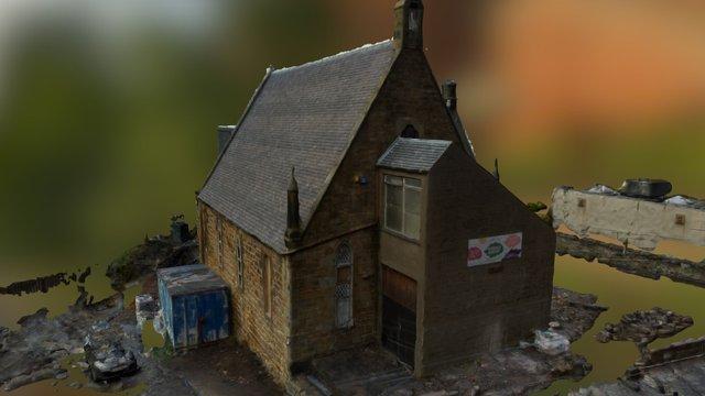 Newbyres Hall 3D Model