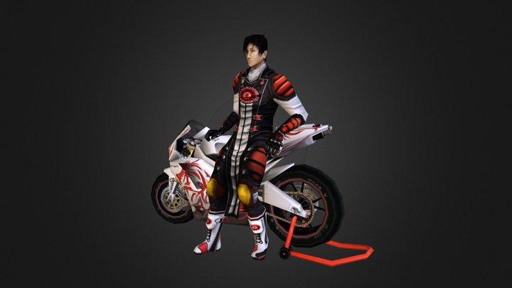 Japanese 3D Model