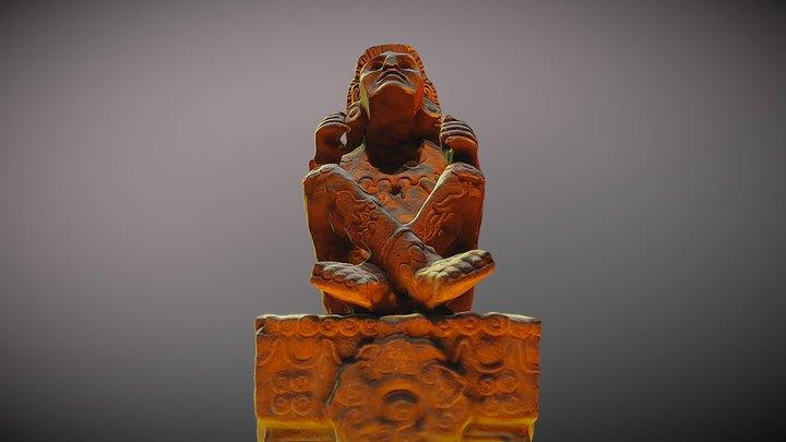 Statue of Xochipilli 3D Model