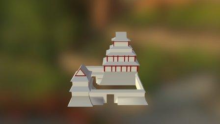 Japanese Castle (WIP) 3D Model