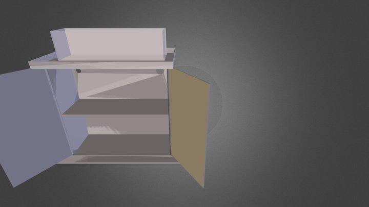 12LongStand2.dae 3D Model