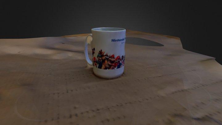 Nintendo Mug 3DST4 3D Model