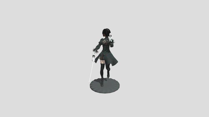 Nierautomata-2b 3D Model