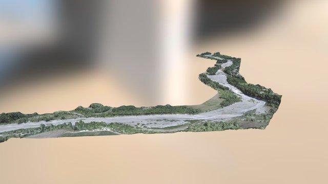 LATITUDE DRONE- Cartographie rivières 3D Model