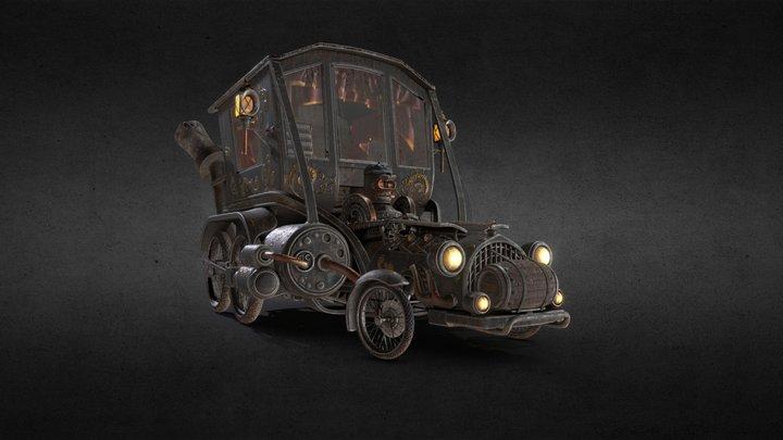 Stesla - Elephant Steam Engines 3D Model