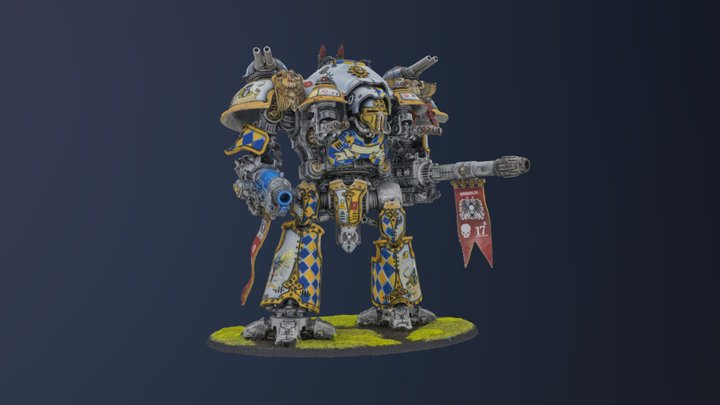 Robot figure 2 3D Model