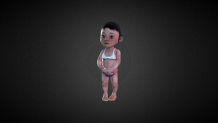 iClone Character Creator - Laura Morph 3D Model