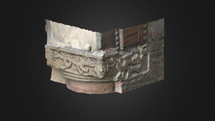 Palazzo Podestà - Capitello Nord 3D Model