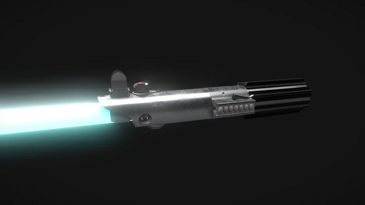 Anakin Skywalker's Lightsaber 3D Model