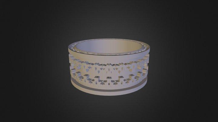 טבעת תימנית מורן קוסקס 3D Model