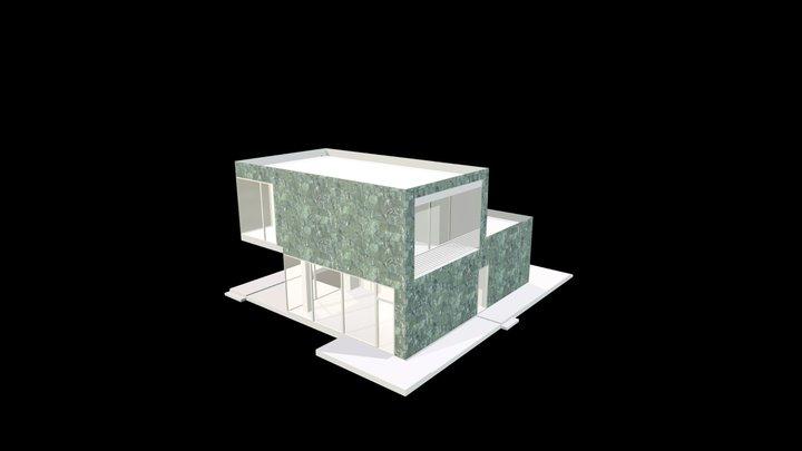 Pietra Smeralda_Levigata_30 cm a correre 3D Model
