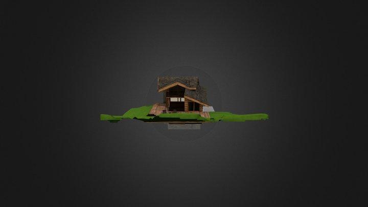 Chalet à Morzine  3D Model