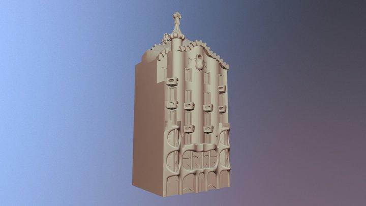 Casa Batllò - Barcelona 3D Model