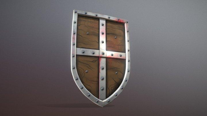 War shield 3D Model