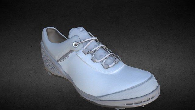 Ecco Golf Shoe 3D Model