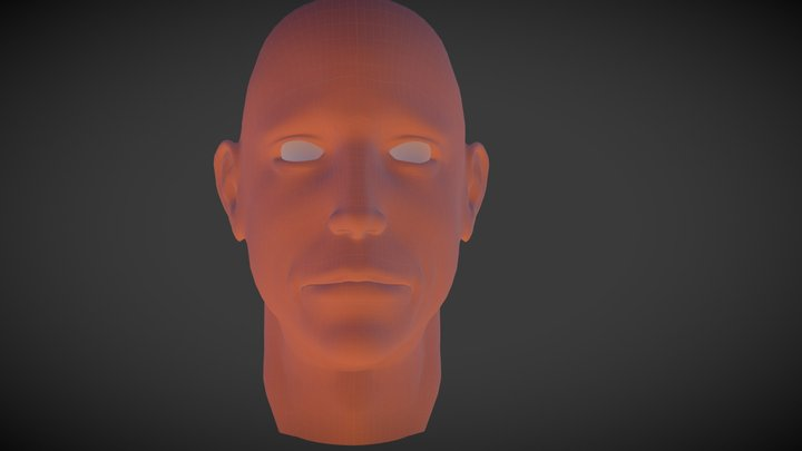 humanHead 3D Model