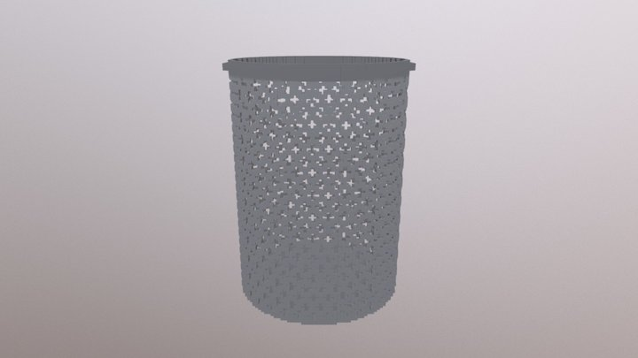 SM Garbage Box 01T 3D Model