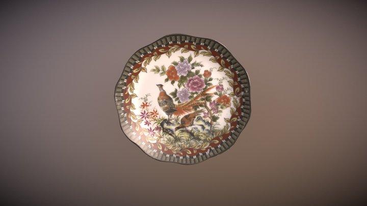 Porcelain-saucer 3D Model
