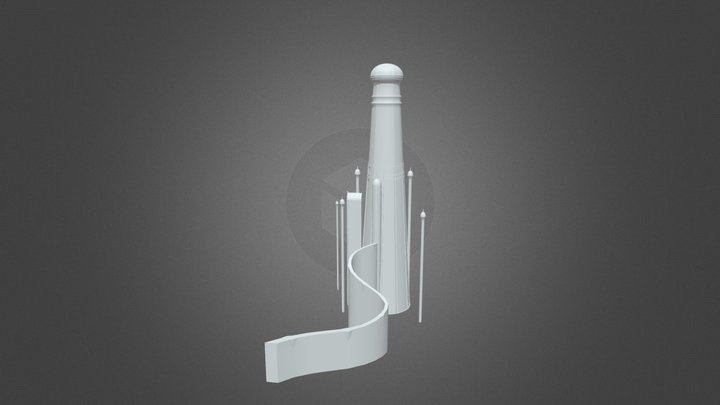 Magic Tower 3D Model