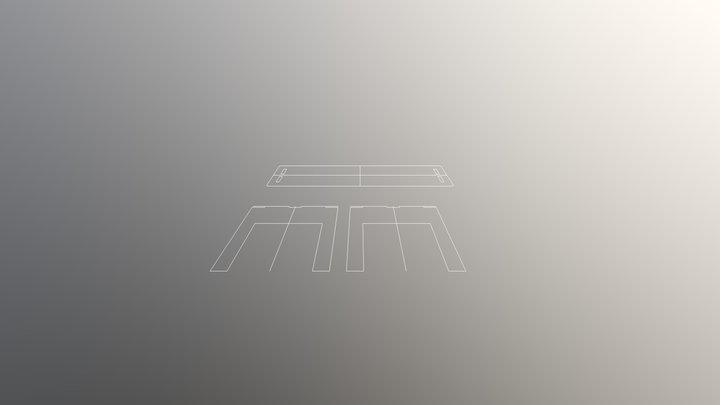 Shopbot_fabacademy_week8 3D Model
