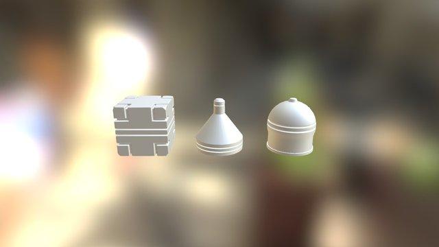 Mesh Modeling Exercise Abaird 3D Model
