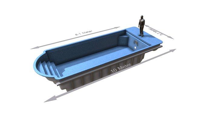 Pool Player 3D Model