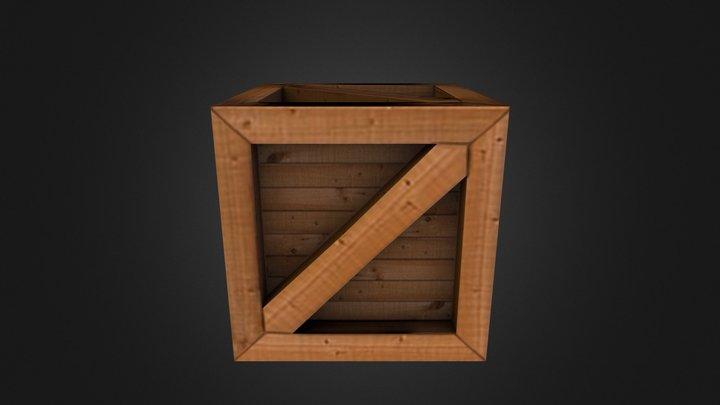 Airport Crate 3D Model