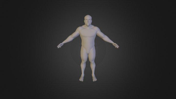 Character_Retop 3D Model