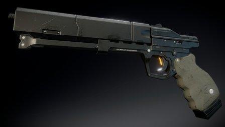 S1911 Sidekick (HandGun) 3D Model