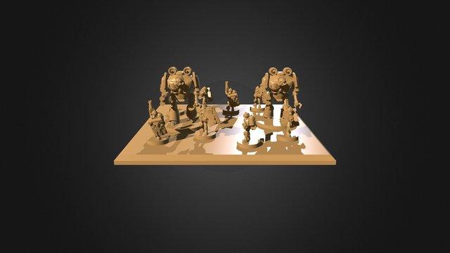 Junker CLAU Scorpio Base 3D Model