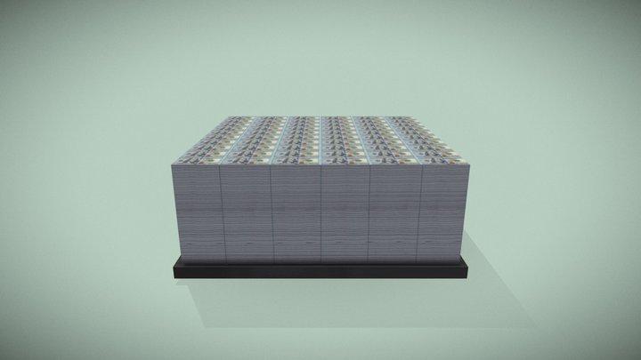 Stashed Dollars 3D Model