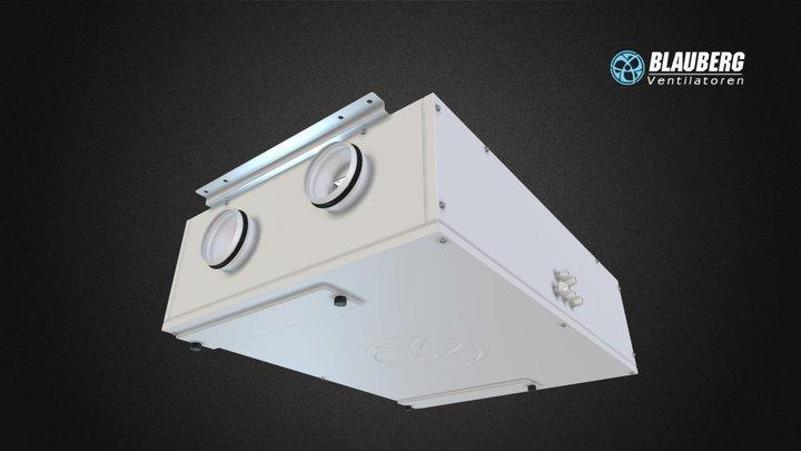 Blauberg Komfort EC DB160 3D Model