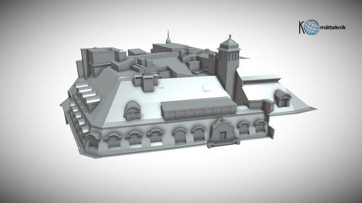 Roof 3D View 3D Model