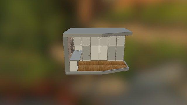 Aménagement bureau solution 2a 3D Model