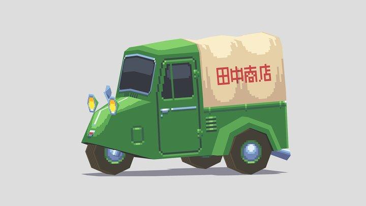 Mini-Truck 3D Model
