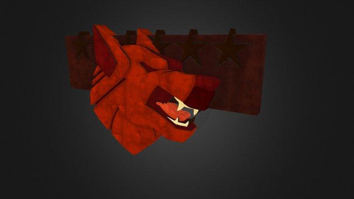 Wolf Clan Logo 3D Model