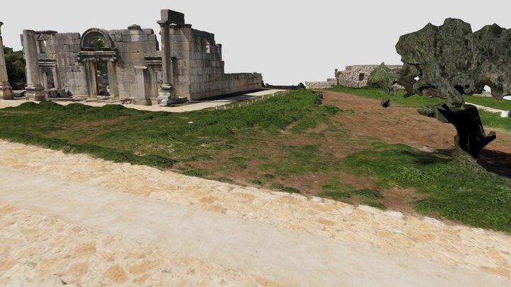 גן לאומי ברעם 3D Model
