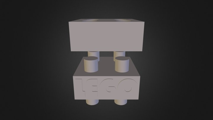 Lego button 3D Model