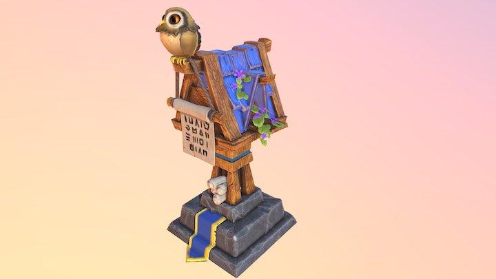 Sova 3D Model