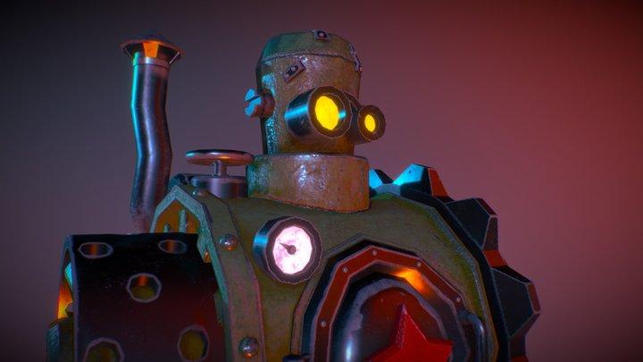 Robo_Kom 3D Model