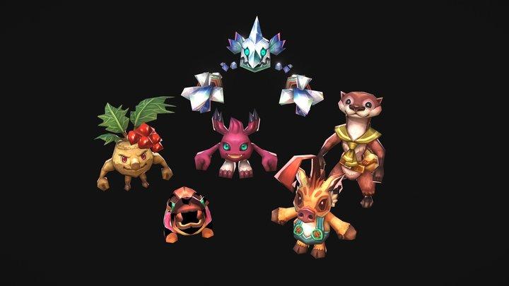 Little Creatures 3D Model