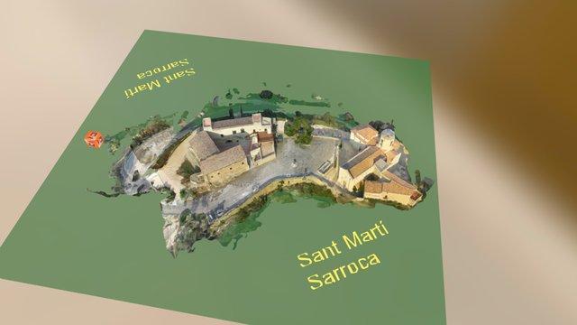 Castell Sant Martí - Sarroca 3D Model