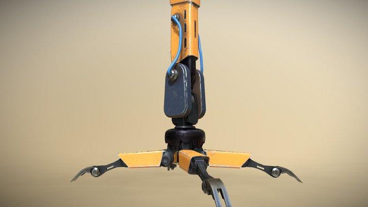Robot Legs - Game Asset/Props/Mecha/Something 3D Model
