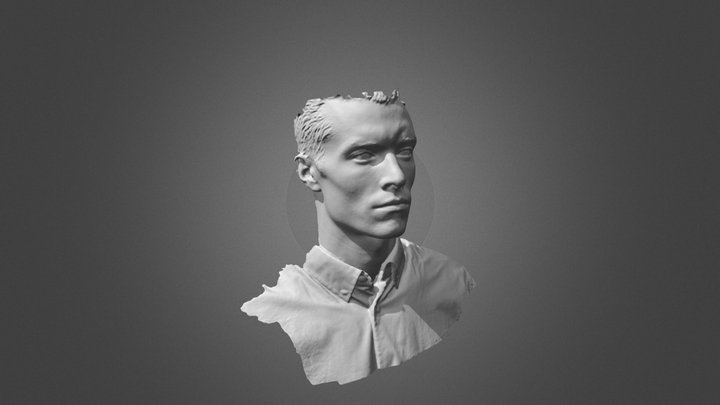 Man without texture by POP (stl) 3D Model